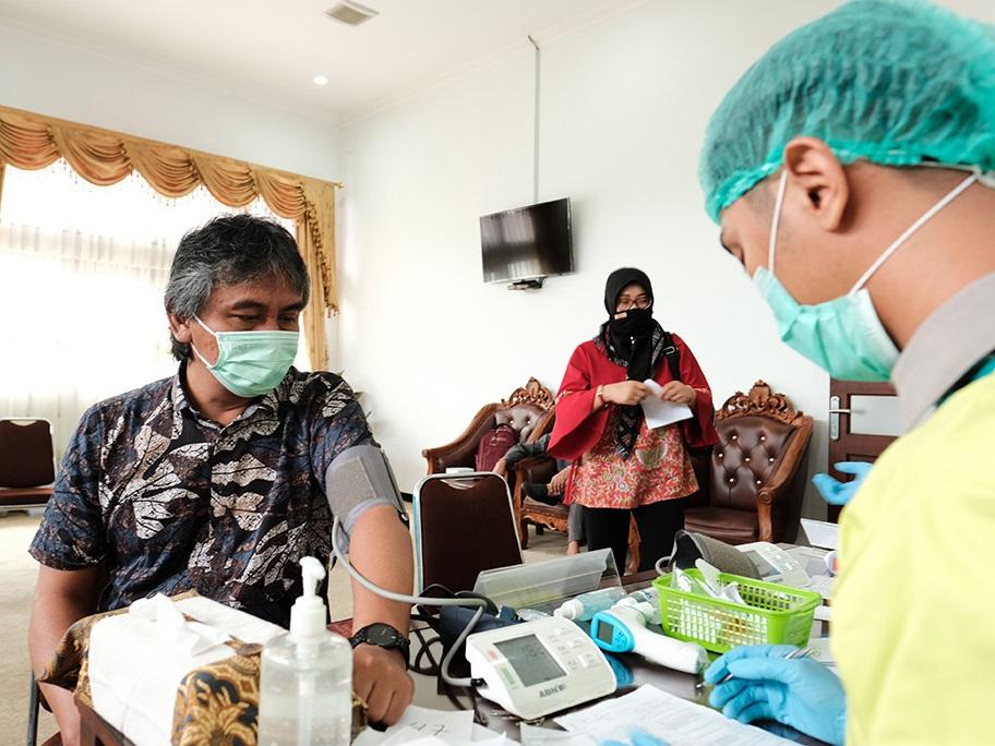 Vaksinasi Covid-19 Anggota DPRD Kabupaten Temanggung